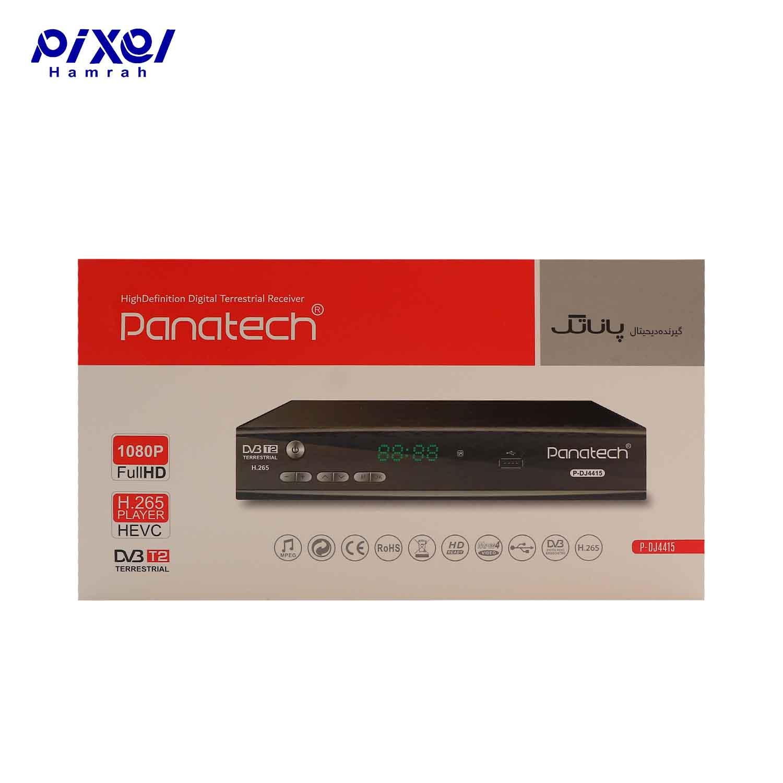 گیرنده دیجیتال PANATECH DVB-DJ4415