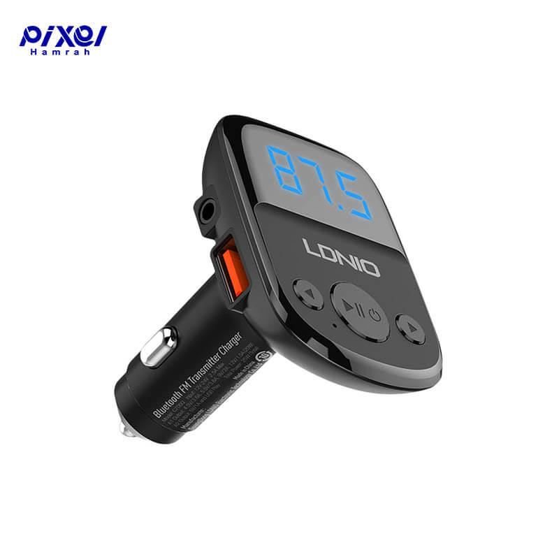 شارژر فندکی 3.6A LDNIO C706Q FM Player به همراه کابل میکرو