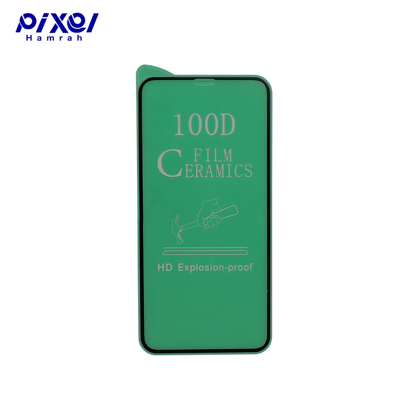 محافظ صفحه نمایش سرامیکی شفاف IPHONE12-12 PRO 100D