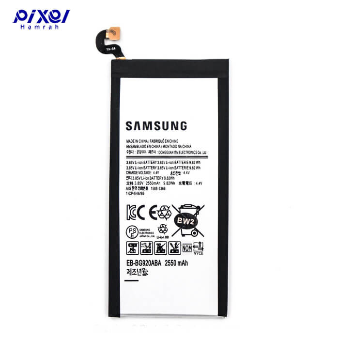 باتری اورجینال SAMSUNG S6