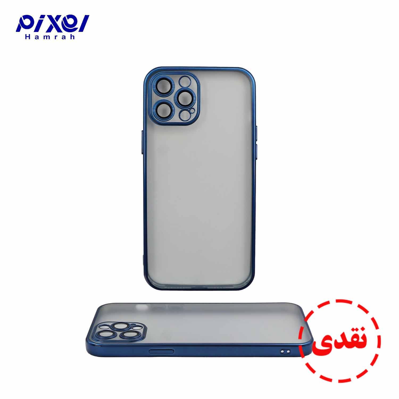 گارد ژله ای دور رنگی IPHONE12 PROMAX