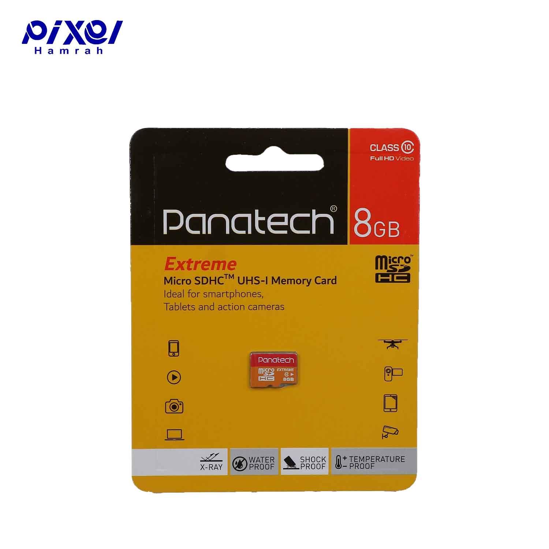 کارت حافظه 30MBps PANATECH 8G