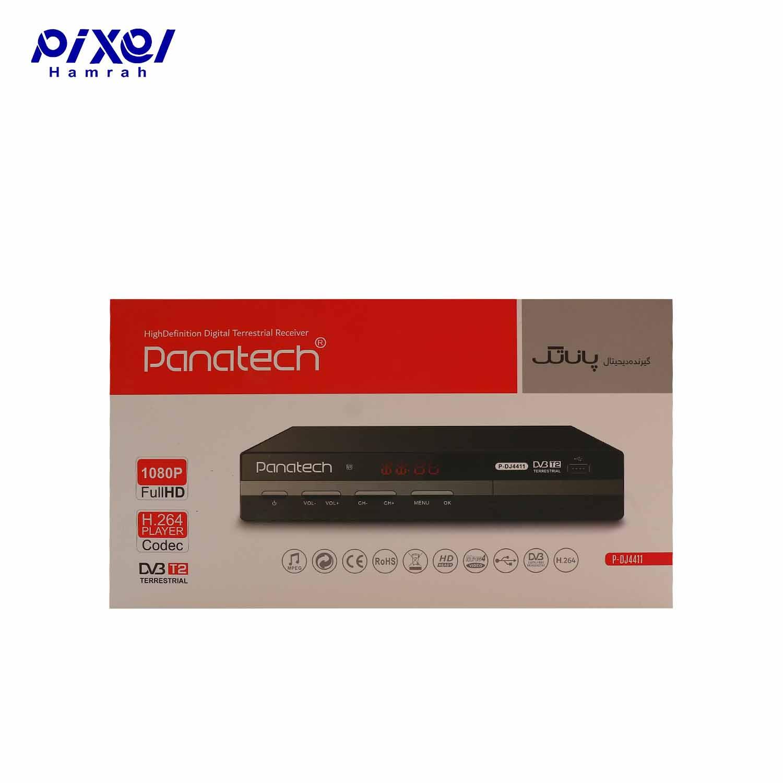 گیرنده دیجیتال PANATECH DVB-DJ4411