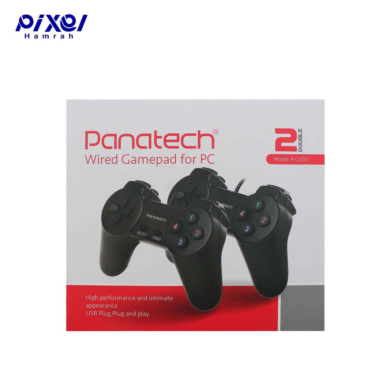 دسته بازی دوتایی سیم دار ساده PANATECH G503